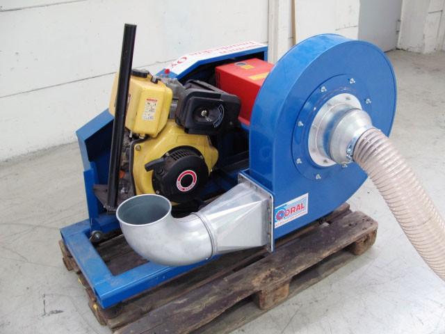 6 5 Diesel Blower : Eurovac suomen imurikeskus sawdust blower diesel